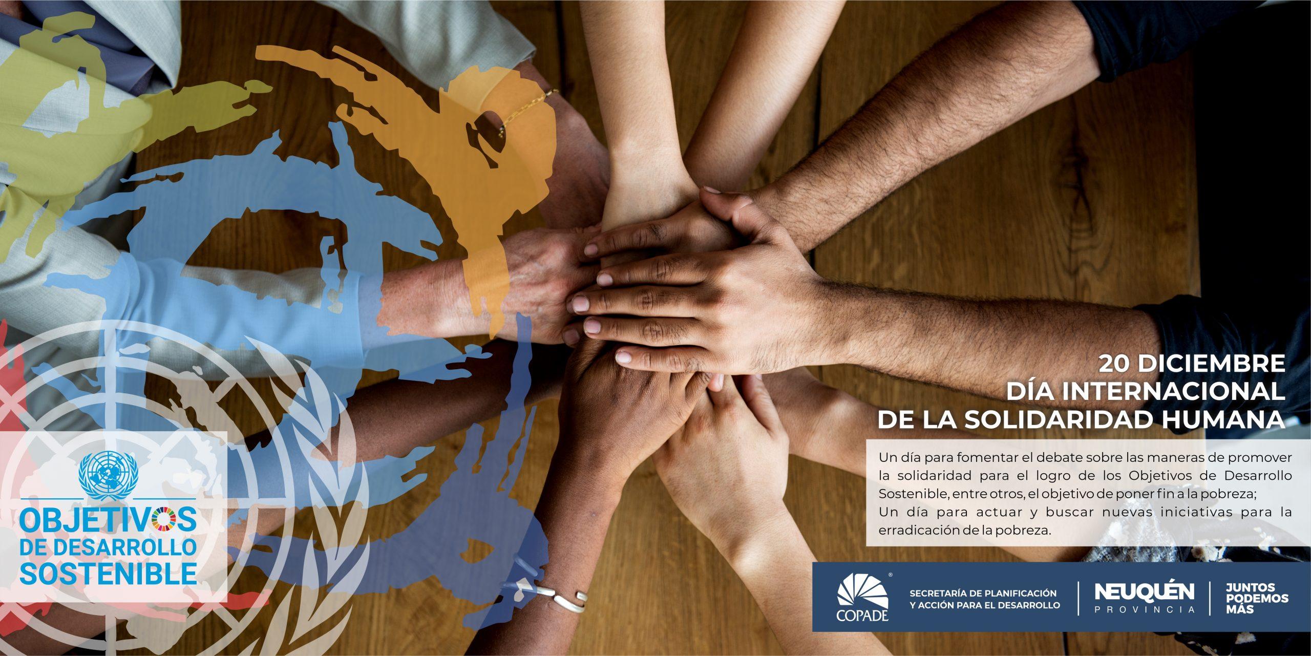 20 de diciembre | Día Internacional de la Solidaridad Humana
