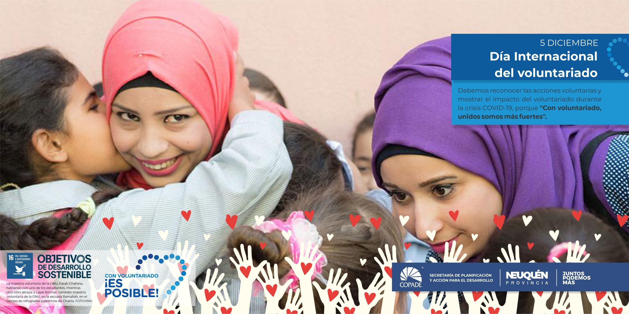 5 de Diciembre | Día internacional del voluntariado