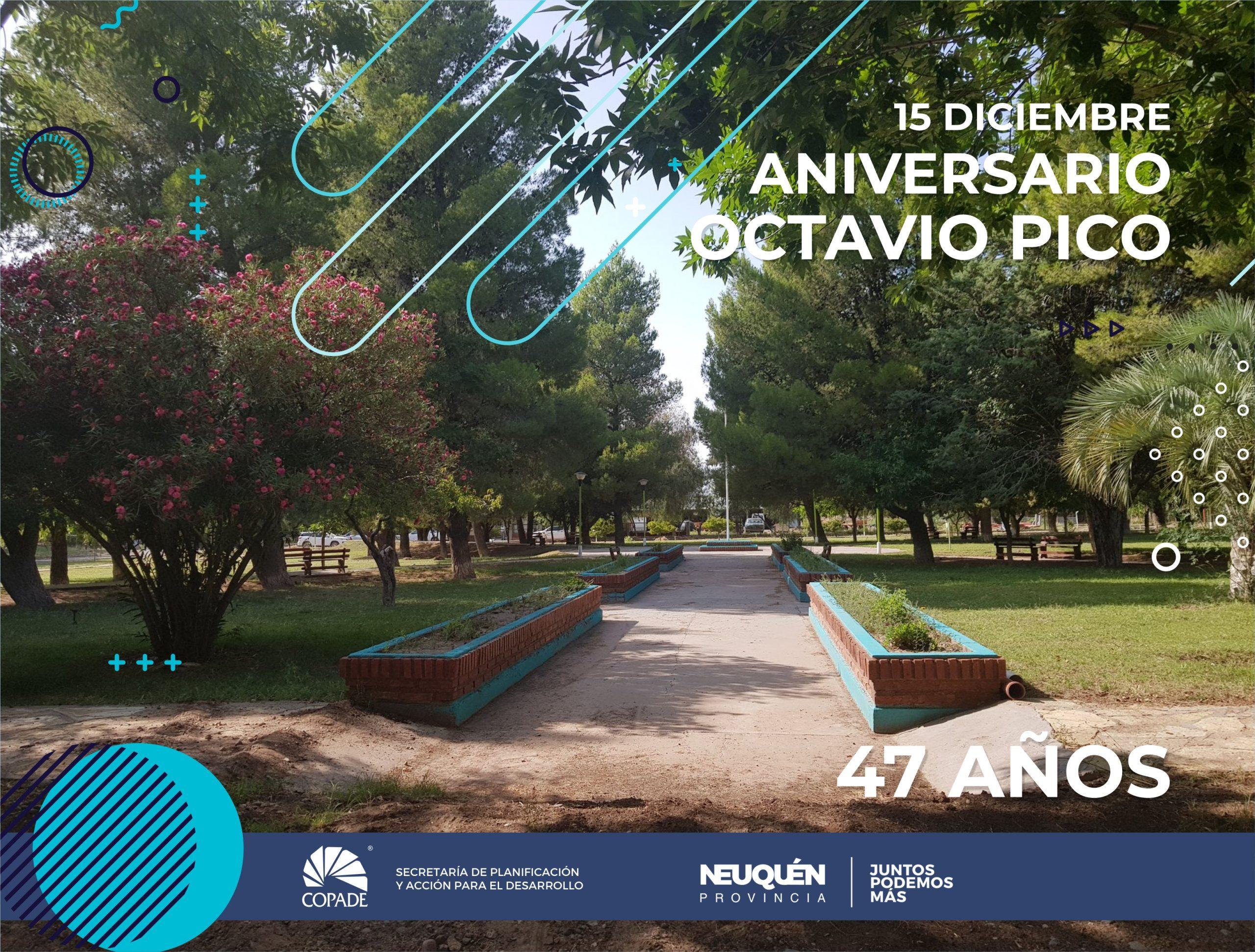 15 de diciembre | Aniversario de Octavio Pico