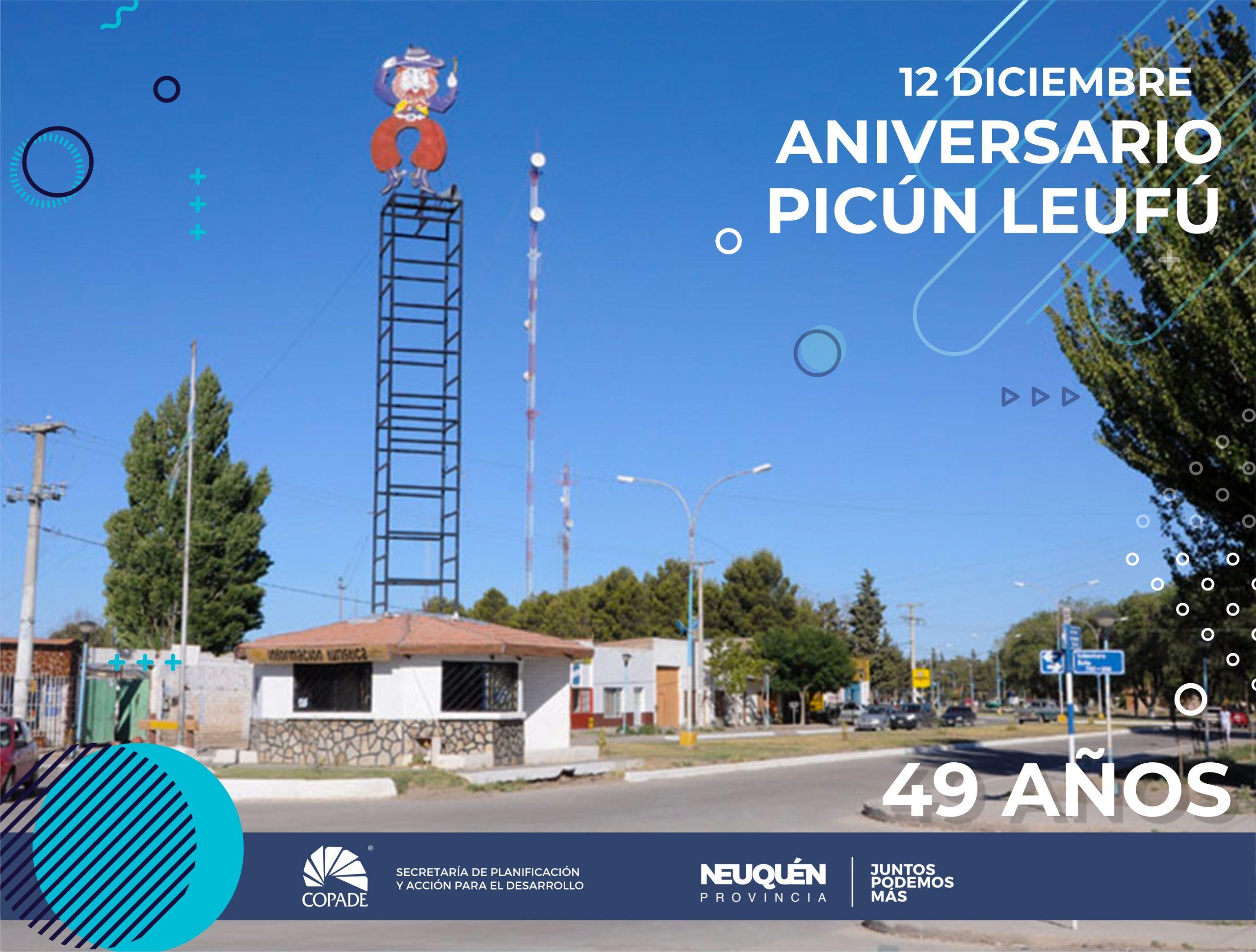12 de diciembre | Aniversario de Picún Leufú
