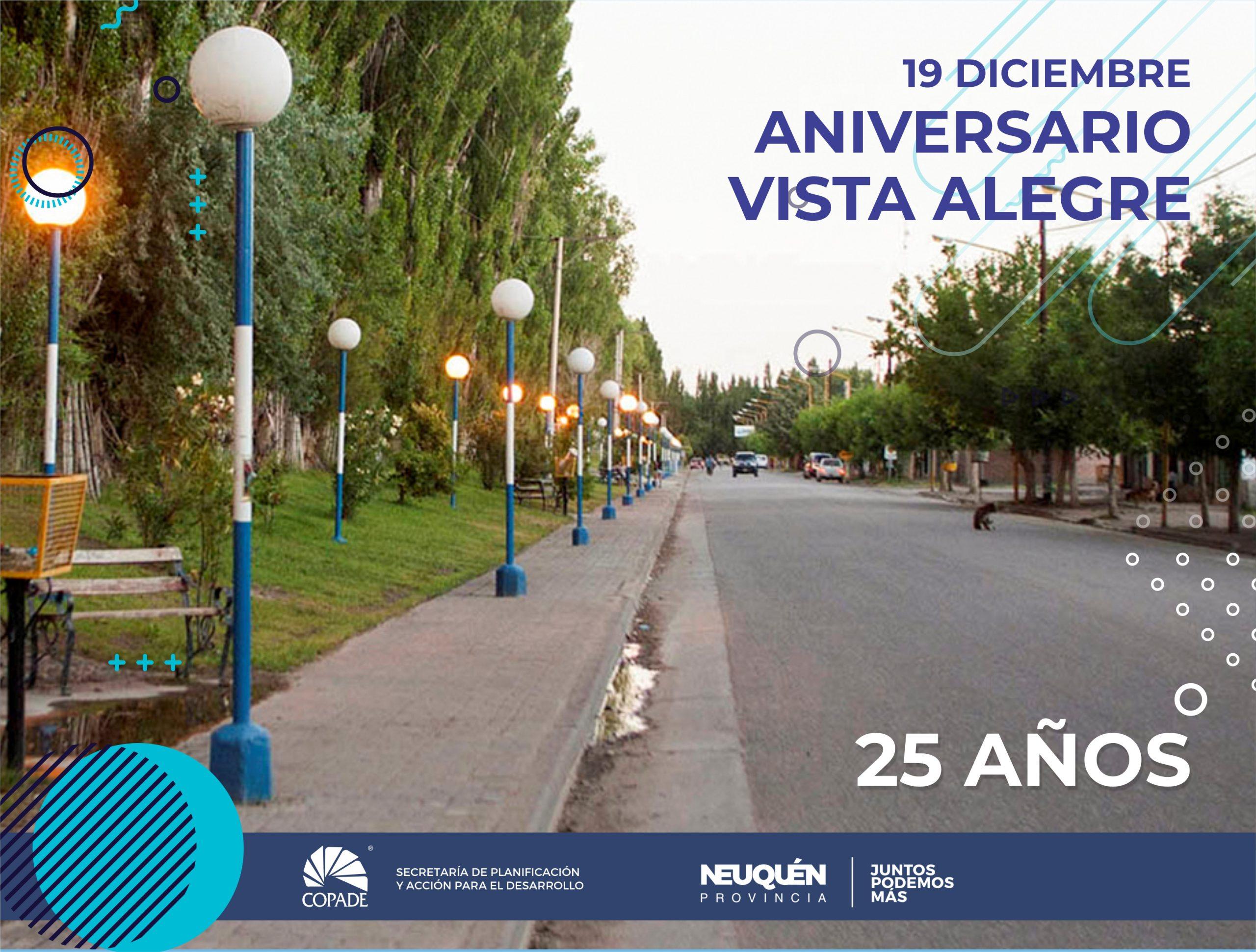 19 diciembre | Aniversario de Vista Alegre