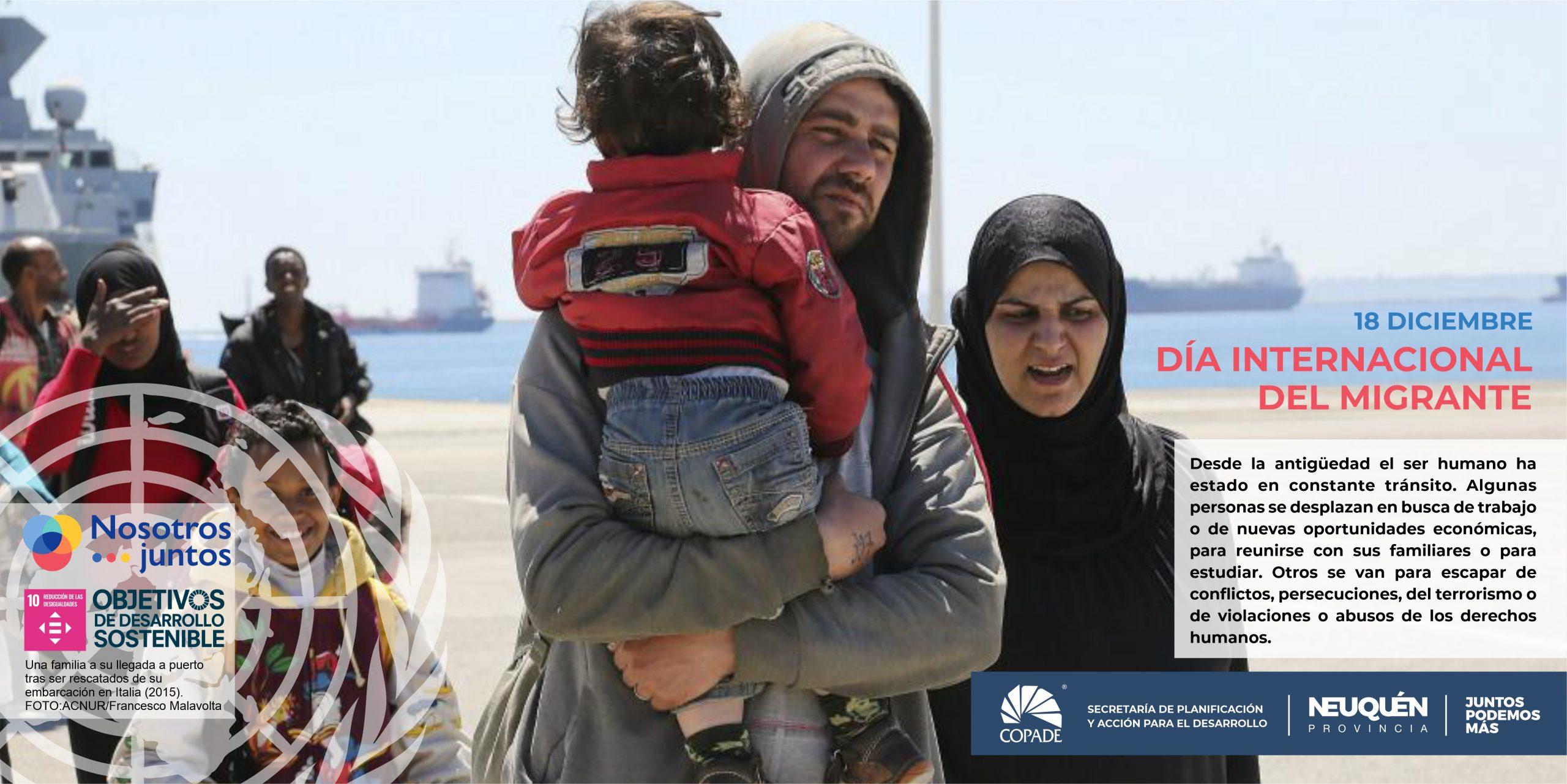 18 de diciembre | Día internacional del migrante