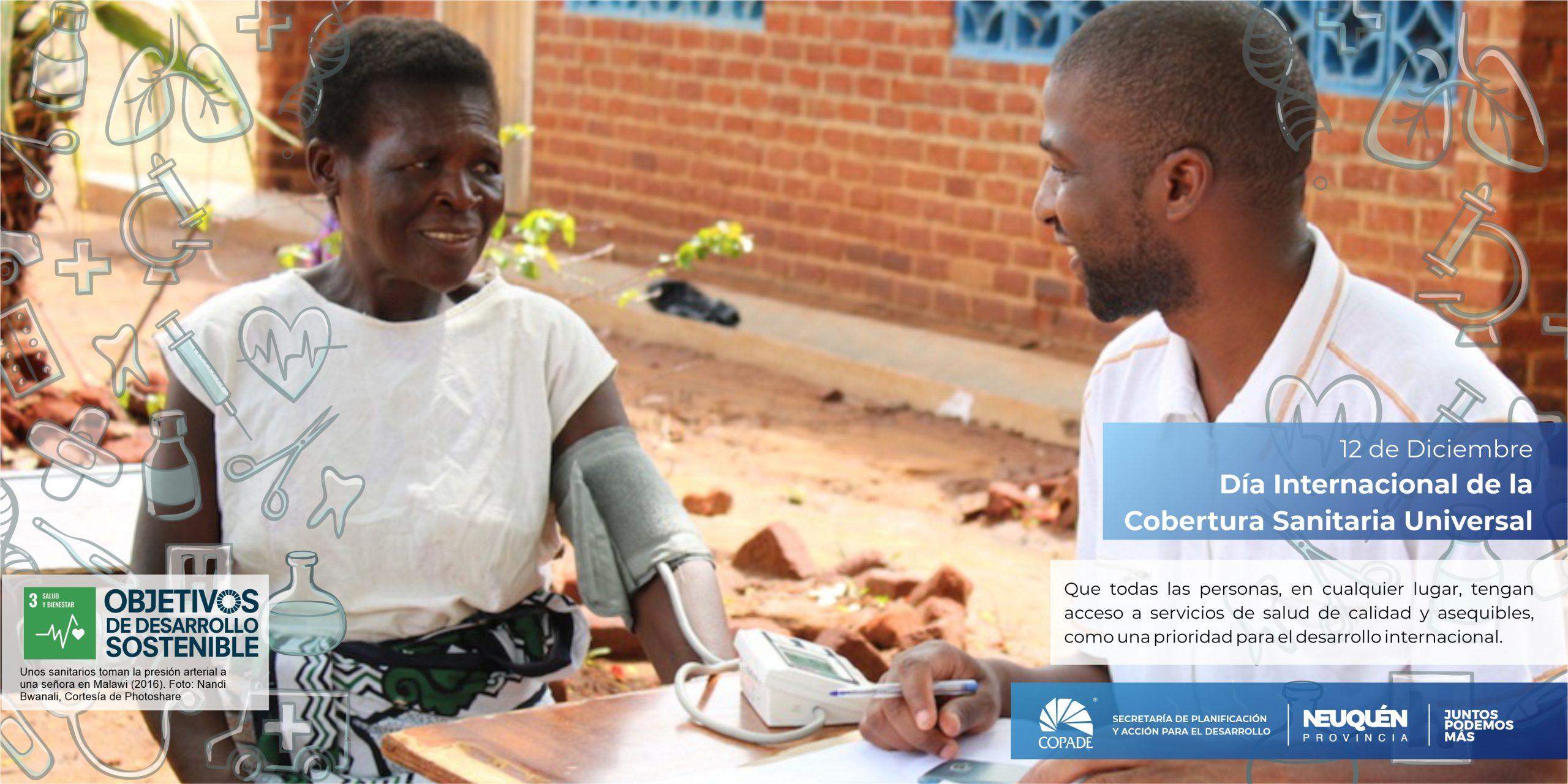 12 de diciembre | Día internacional de la Cobertura Sanitaria Universal
