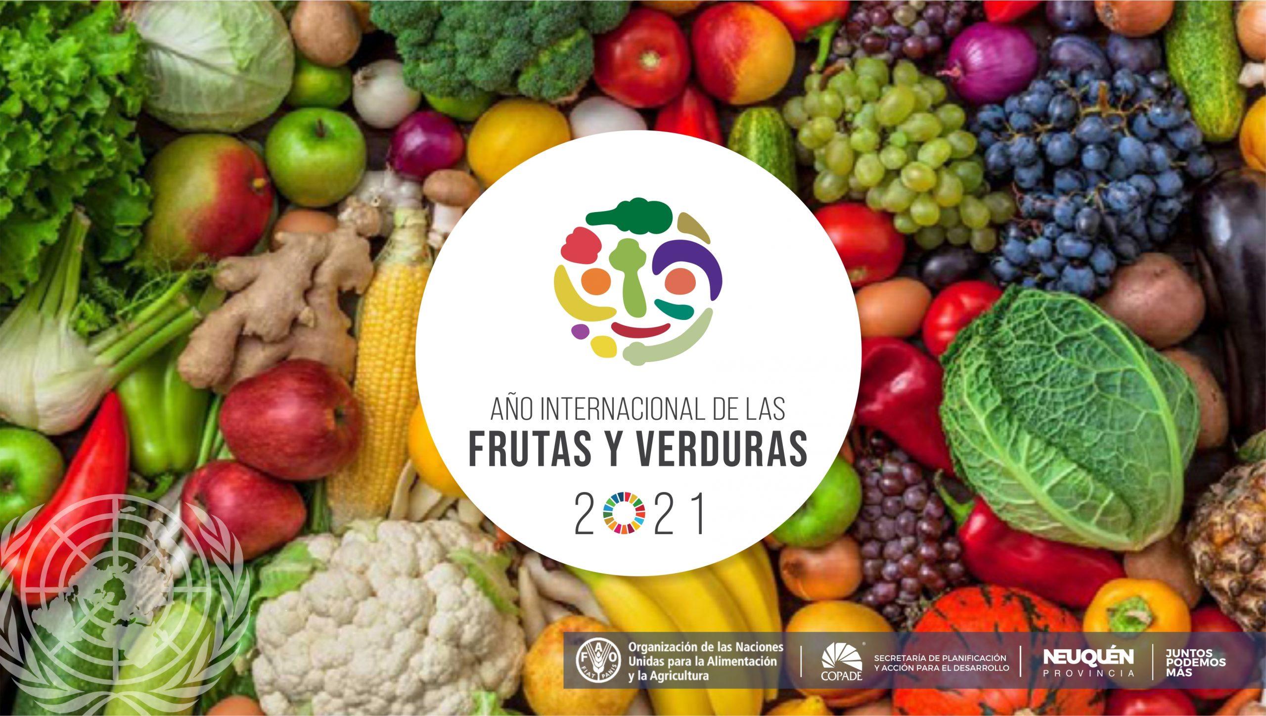 El 2021 es el año Internacional de las Frutas y Verduras
