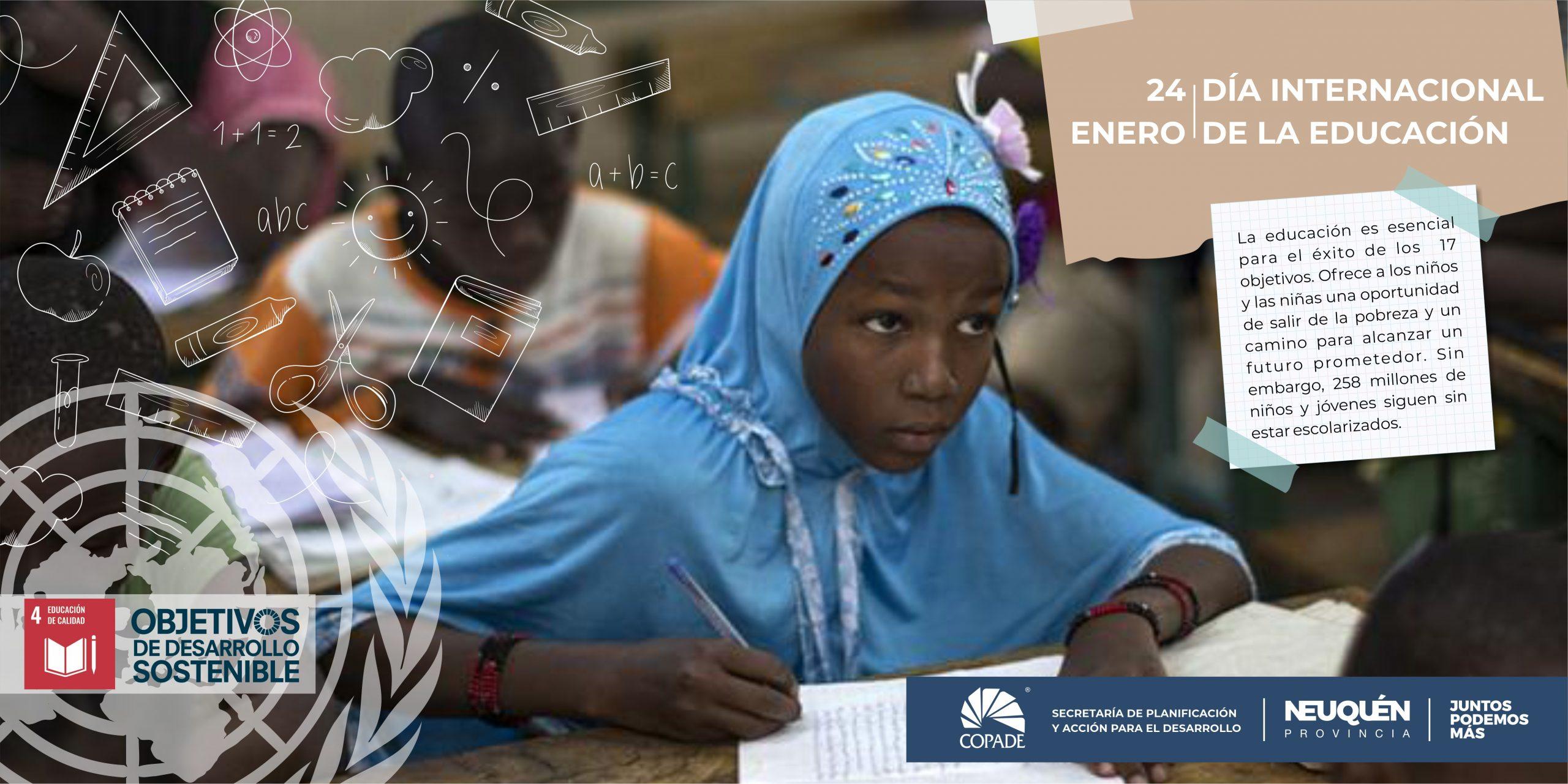 24 de Enero | Día internacional de la Educación | ONU