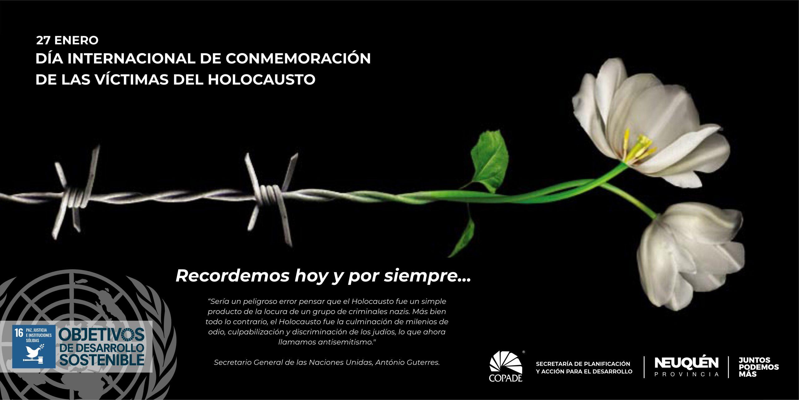 27 de Enero | Día Internacional en Memoria de las Víctimas del Holocausto | ONU
