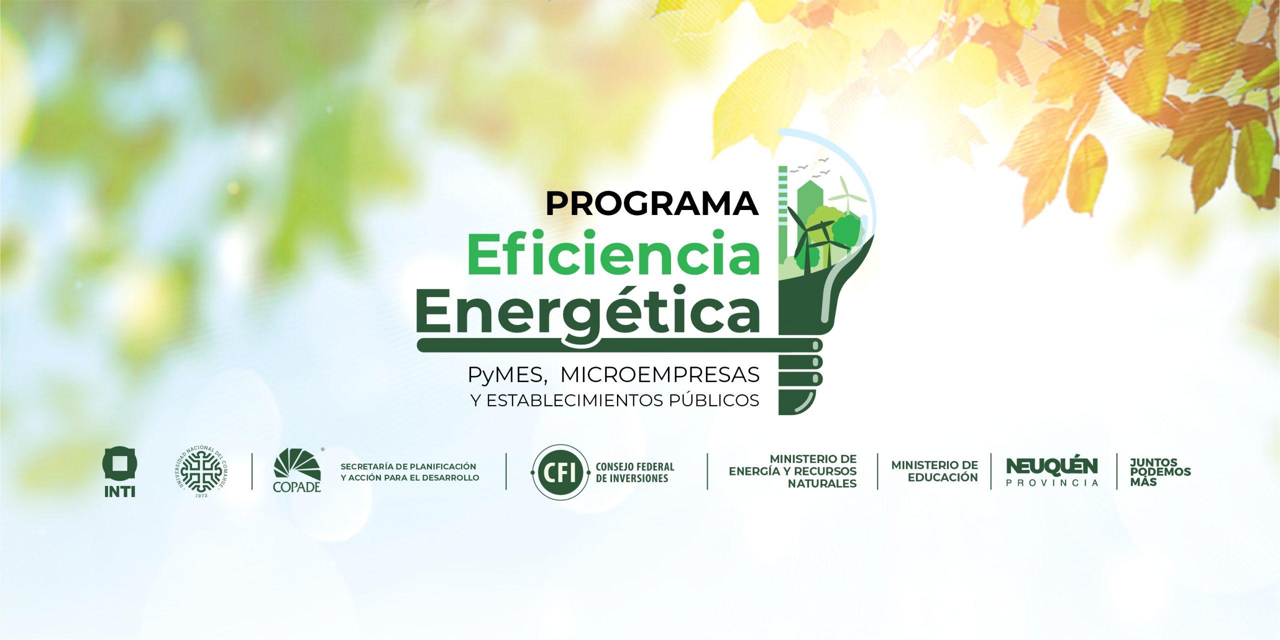 COPADE amplía el marco de aplicación para el Programa de Eficiencia Energética en todo el territorio provincial