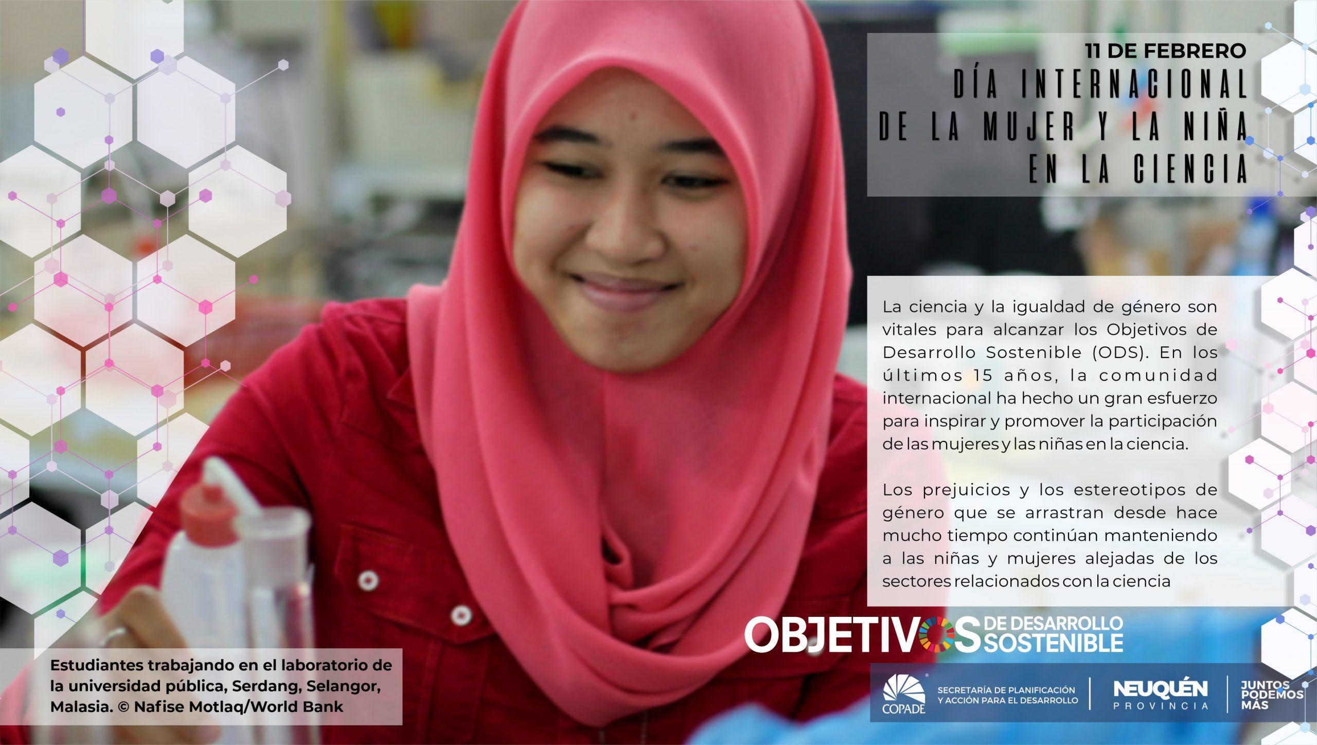 11 de febrero | Día Internacional de la Mujer y la Niña en la Ciencia