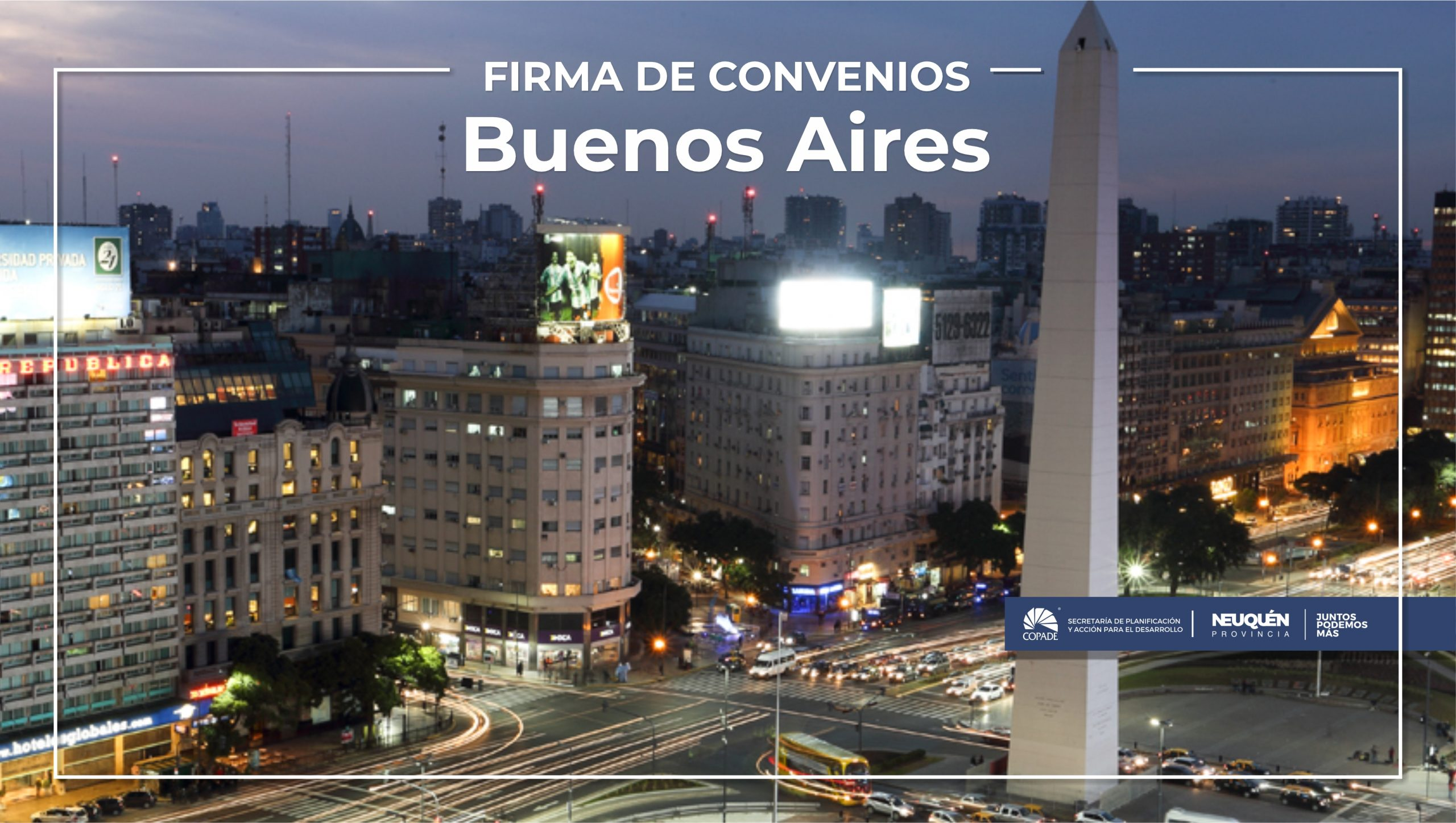 Gutiérrez Colantuono firma convenios en Buenos Aires