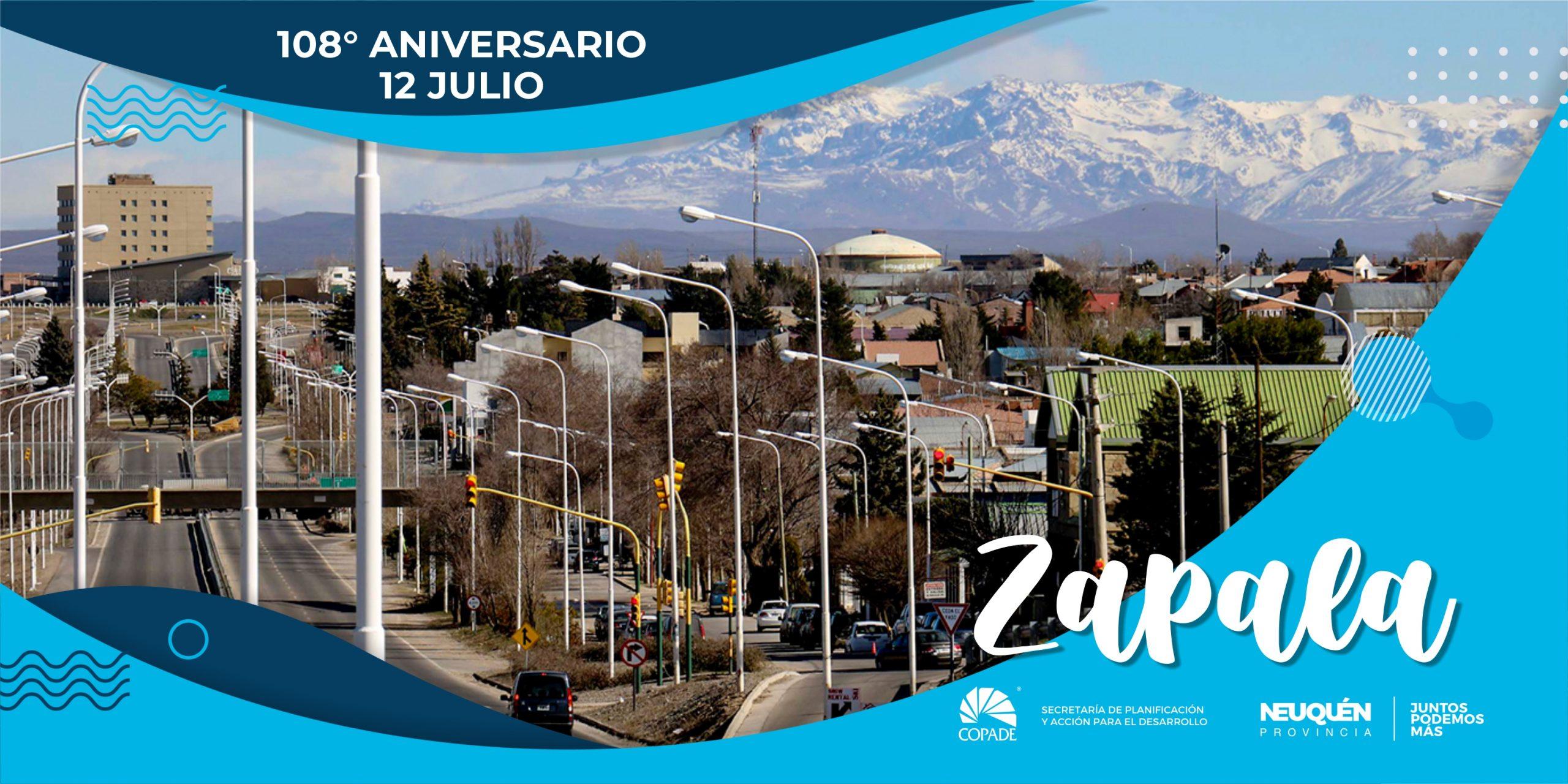 12 de Julio | Aniversario de Zapala
