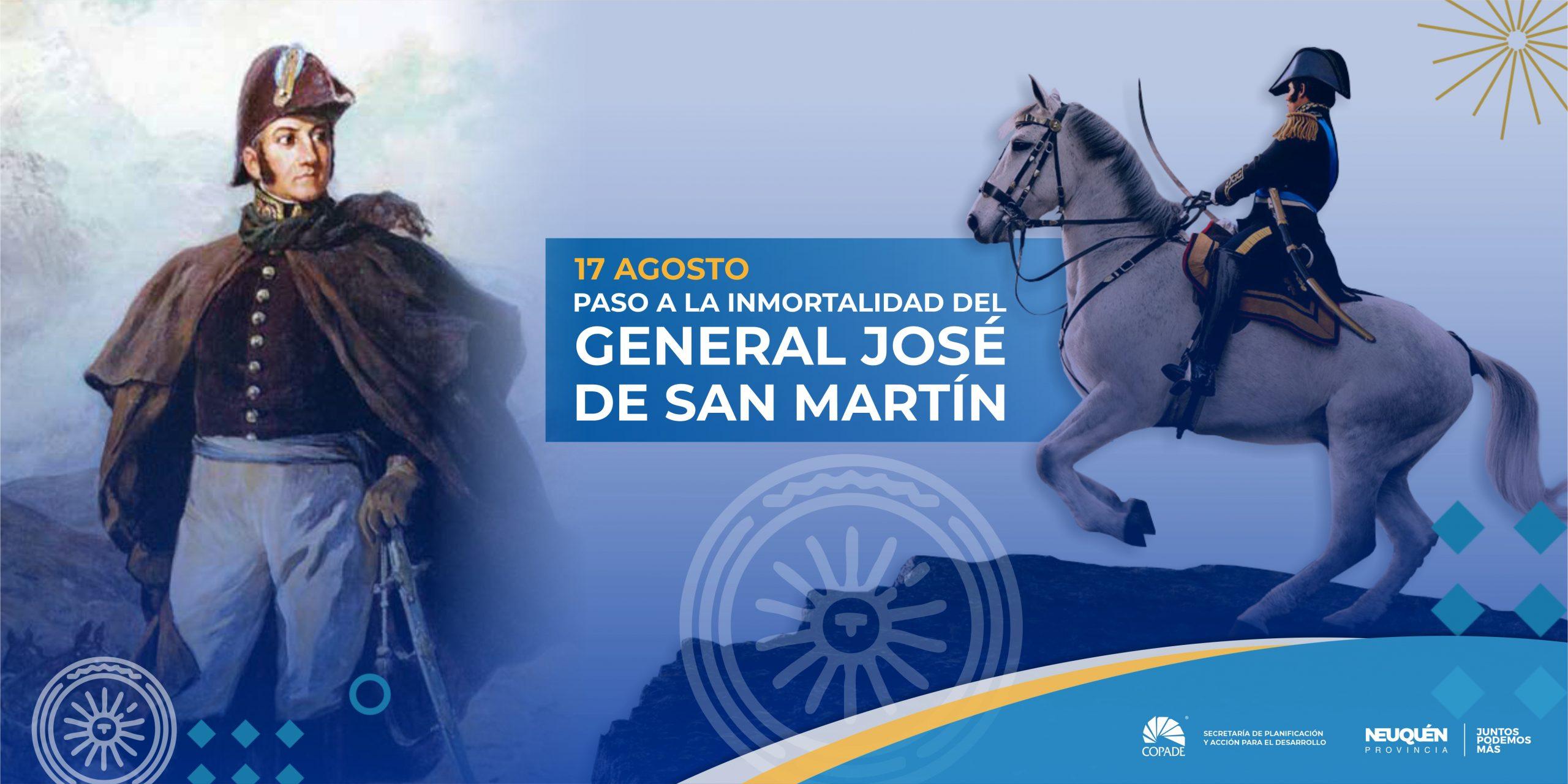 17 de Agosto | Paso a la Inmortalidad del Gral. José de San Martín