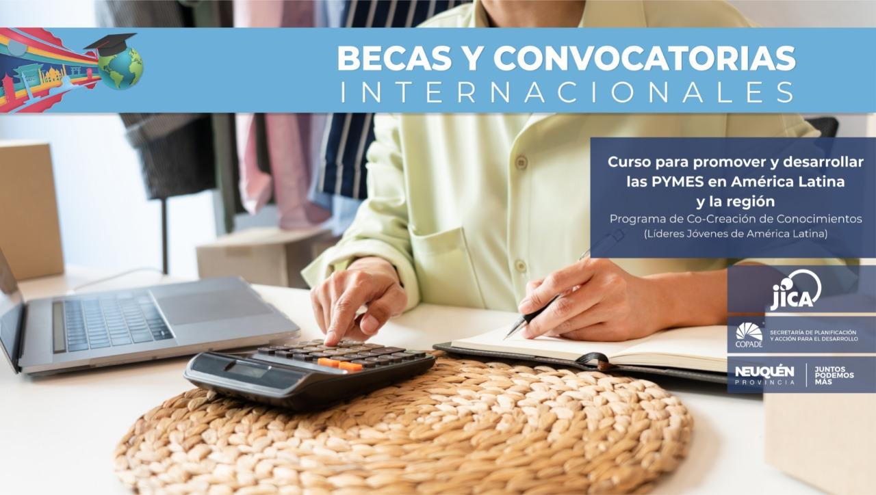 COPADE colabora en la difusión de becas internacionales
